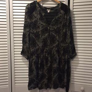 Hinge Loose Hanging Dress